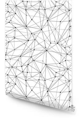 Geometrische Mesh Naadloos Patroon Behangrol