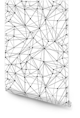 Malla Modelo geométrico inconsútil Rollo de papel pintado