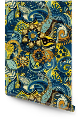 Indian colorful seamless pattern Wallpaper Roll