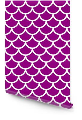 Violettes nahtloses Muster Tapetenrolle
