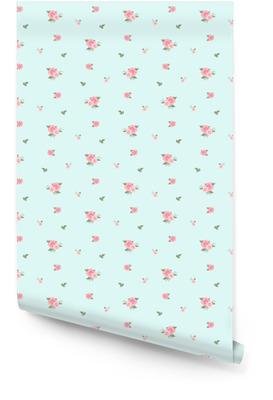 Modèle sans couture en petite fleur. joli fond floral. illustration vectorielle Rouleau de papier peint