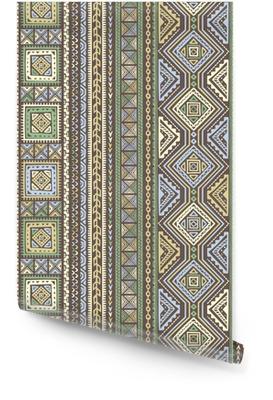 Etnische stijl vector naadloze patroon Behangrol