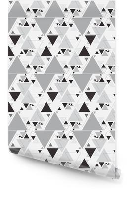 Modèle sans couture triangle abstrait. fond de modèle triangle Rouleau de papier peint