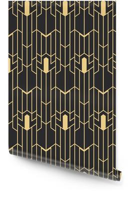 Abstrakt art deco sømløs mønster Tapetrulle