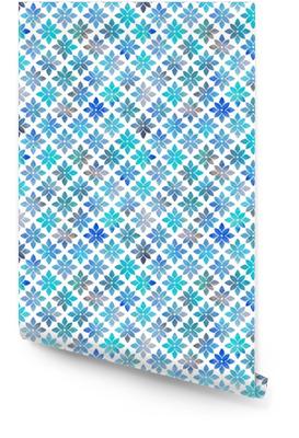 Illustrazione senza giunte geometrica di festival di carta da parati brillante Rotolo di carta da parati