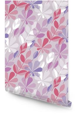 Herbstlaub nahtlose Muster Vektor-Illustration. abstraktes natürliches Element des Konzeptes für Hintergrund, Gewebe, Packpapier Tapetenrolle