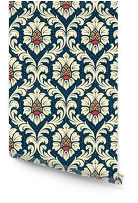 Ornement damassé démodé de luxe, texture sans couture classique royale pour le papier peint, textile, emballage. exquis modèle baroque floral. Rouleau de papier peint