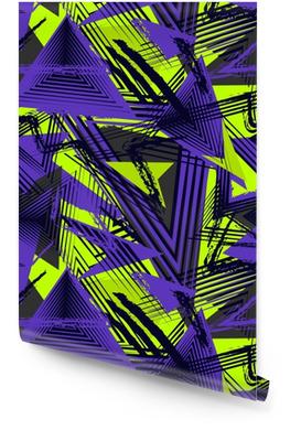 Motif géométrique sans soudure abstraite, style sport. texture d'art urbain grunge. modèle de sport. Rouleau de papier peint