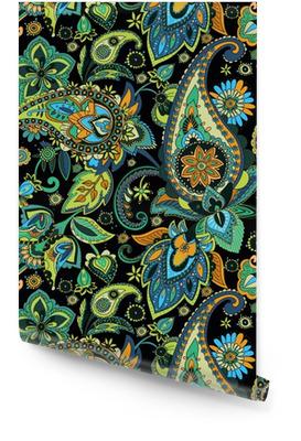 Sømløst mønster basert på tradisjonelle asiatiske elementer Paisley Rulletapet
