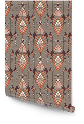 Tribal vintage etnische naadloze patroon. aztec, mexicaans, navajo, afrikaans motief. Behangrol