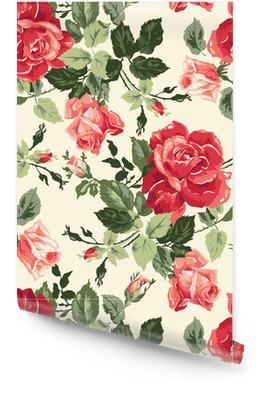 Fancy rose wallpaper Rollo de papel pintado
