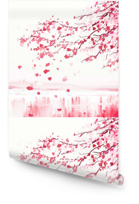 Japanischer kirschbaum Tapetenrolle