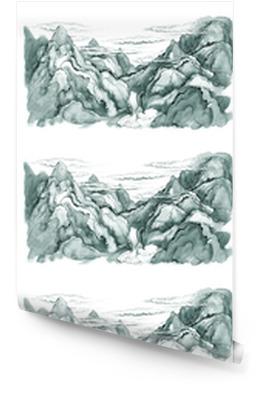 Montañas japonesas Rollo de papel pintado