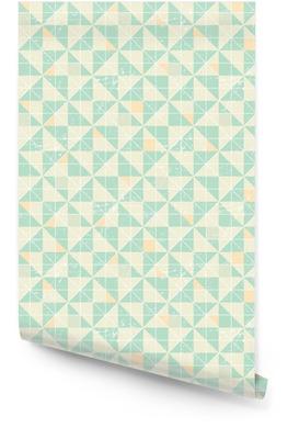 Bezešvé geometrický vzor s origami prvky. Tapeta v rolích