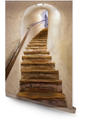 Escaliers dans le château de Kufstein - Autriche Rouleau de papier peint