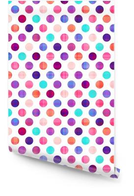 seamless circles background texture Wallpaper Roll