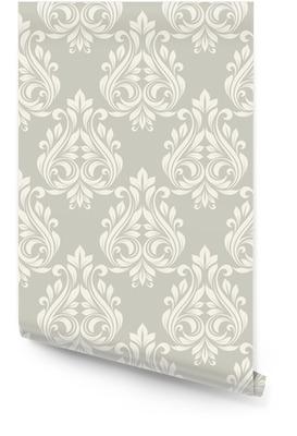 Seamless damask pattern. Wallpaper Roll