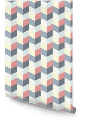abstract retro geometric pattern Rolo de papel de parede