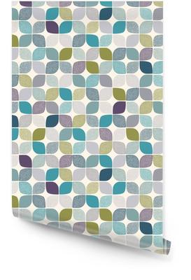 Naadloze abstracte puntjes patroon Behangrol