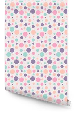 Seamless Dots Rollo de papel pintado