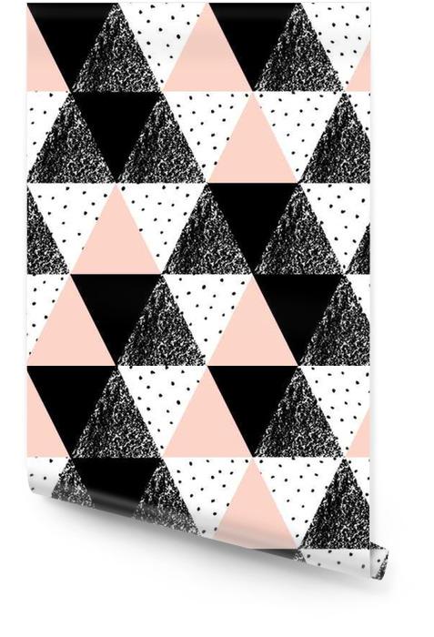 Abstract pattern geometrico Rotolo di carta da parati - Risorse Grafiche