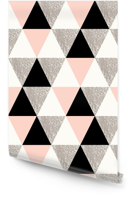 Abstract Geometric Pattern Rouleau de papier peint - Cartes de vœux