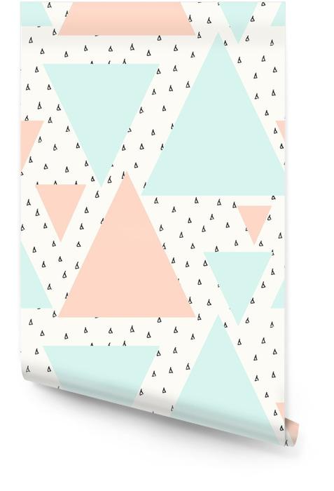Abstrakt geometrisk mønster Rulletapet -
