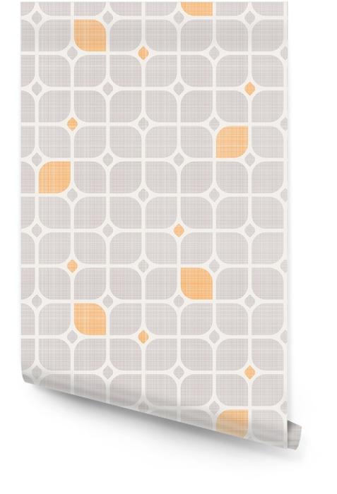 Geometryczny wzór powtarzalne Tapeta w rolce - Zasoby graficzne