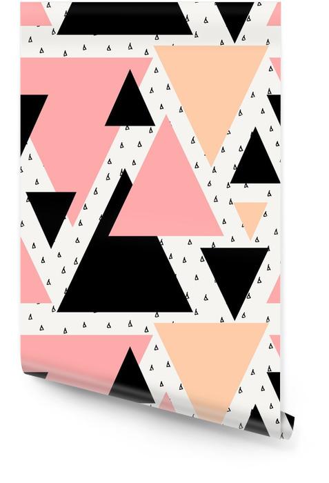 Abstrakcyjne geometryczne powtarzalne wzór Tapeta w rolce -
