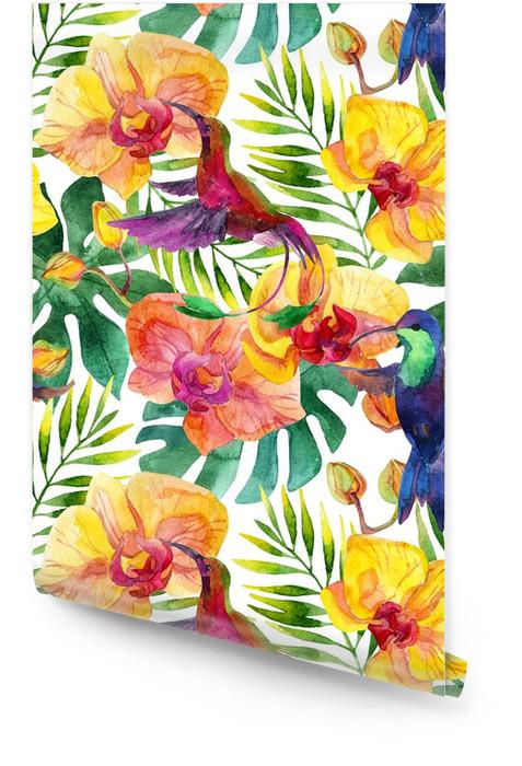 Sans couture Rouleau de papier peint - Plantes et fleurs