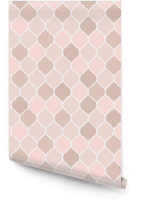 Naadloze patroon roze tegels, vector Behangrol - Grafische Bronnen