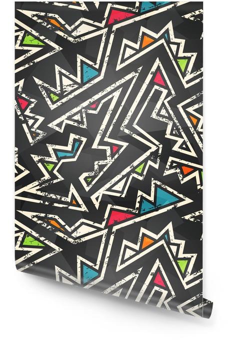 Graffiti nahtlose Muster Tapetenrolle - Grafische Elemente