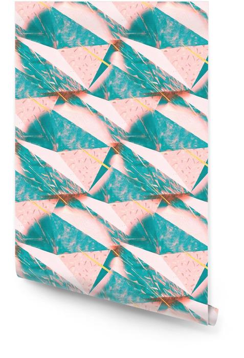 Streszczenie popsutymi trójkątne tekstury tła. Jednolite wielokątny wzór dla swojego projektu. Kreatywne szablonu. Tapeta w rolce - Zasoby graficzne