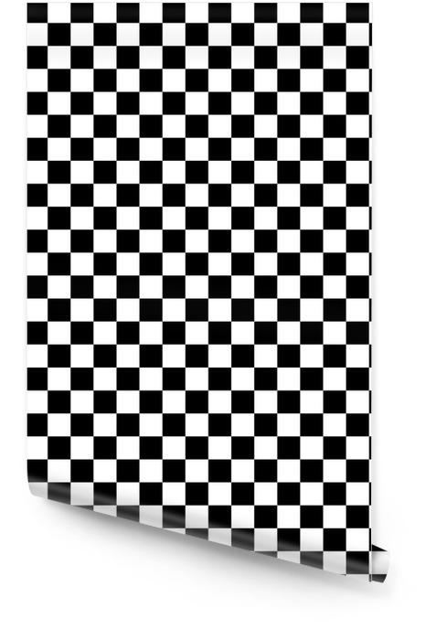 Vecteur vérificateur d'échecs carré abstrait Rouleau de papier peint - Ressources graphiques