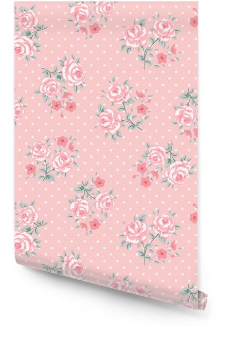 Flower seamless pattern Wallpaper Roll - Plants and Flowers