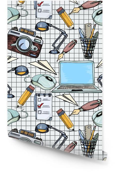 Patrón de negocios sin fisuras Rollo de papel pintado - Recursos gráficos
