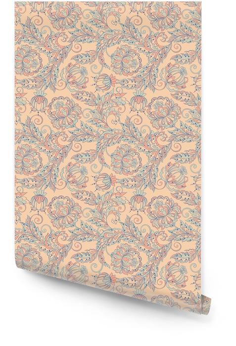 Seamless floral Rollo de papel pintado - Recursos gráficos