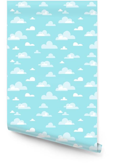 Patrón de cielo sin costuras Rollo de papel pintado - Recursos gráficos