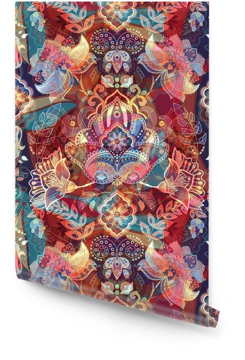 Światło kolorowe bez szwu wzór Tapeta w rolce - Rośliny i kwiaty