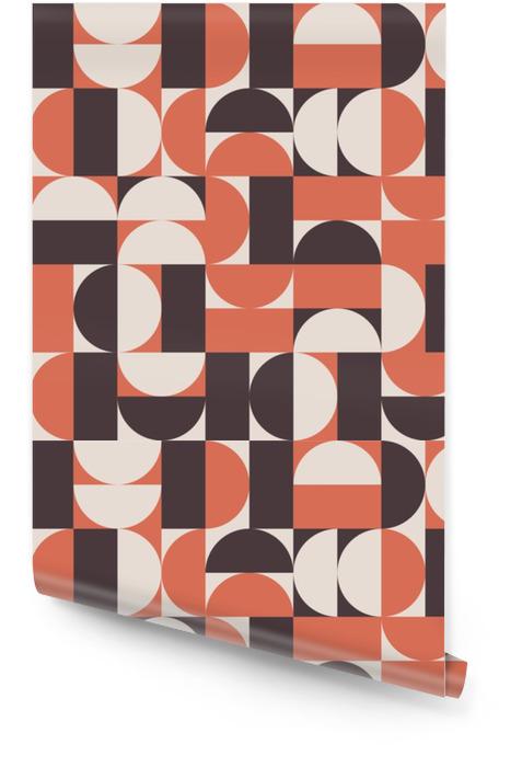 Fond de vecteur rétro Rouleau de papier peint - Ressources graphiques