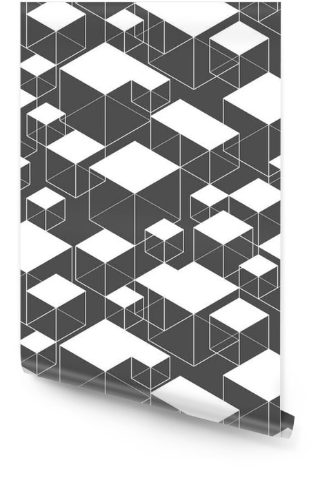 Geometric Seamless Pattern Wallpaper roll - Graphic Resources
