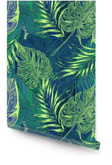 Tropikal Bitkiler Rulo Duvar Kağıdı - Manzaralar
