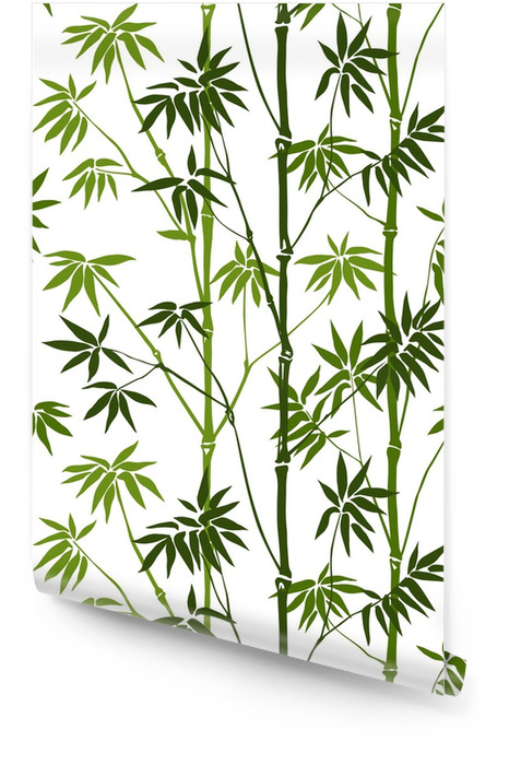 Bamboo Seamless Pattern Wallpaper roll - Plants and Flowers