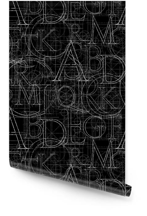 Fuente sin costuras Rollo de papel pintado - Recursos gráficos