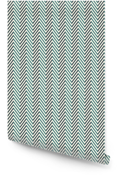 Herringbone abstract background. Blue colors seamless pattern with chevron diagonal lines. Wallpaper roll - Graphic Resources