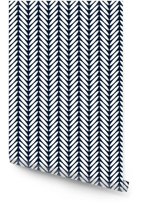Vecteur de modèle sans couture classique de chevrons Rouleau de papier peint - Ressources graphiques