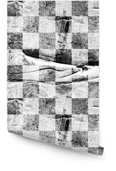Grunge сhess texturé abstrait damier sans soudure Rouleau de papier peint - Ressources graphiques