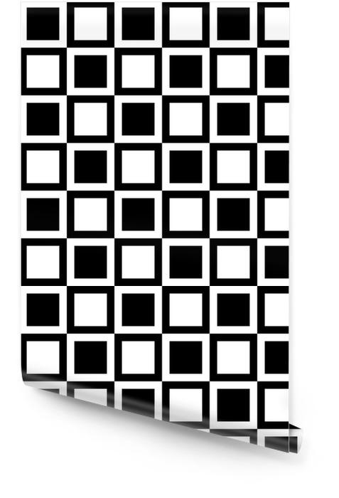 Motif géométrique à carreaux. motif abstrait incolore avec des carrés / rectangles Rouleau de papier peint - Ressources graphiques