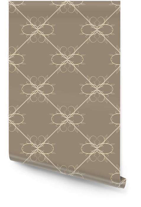 Abstract naadloos patroon Behangrol - Grafische Bronnen