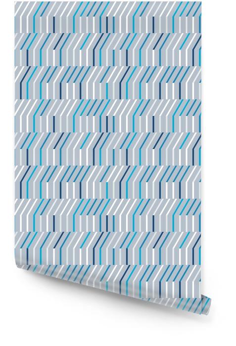 Abstrakt sømløs mønster fra horisontale og diagonale linjer. Rulletapet - Grafiske Ressurser